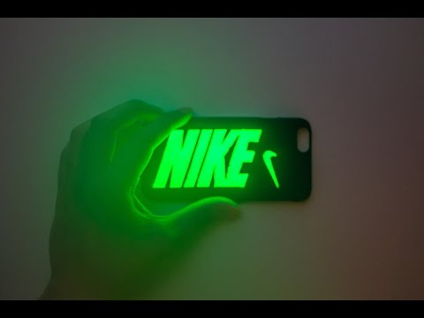 DIY Glow In The Dark iPhone 6 Case