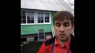 Окна на дачу с монтажем.  Дачные окна в Архангельске.  2017 г ип кротов 470773