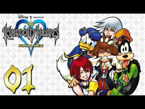 Kingdom Hearts 1 Final Mix Let's Play - Ep 1 : L'île du Destin