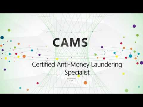 CAMS Certified Anti-Money Laundering Specialist dumps|CertTree - YouTube