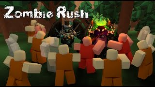 SMASHING the HEADS of EVIL ZOMBIES!  | Zombie Rush | ROBLOX #109