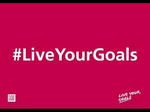 Christine Sinclair supports #LiveYourGoals