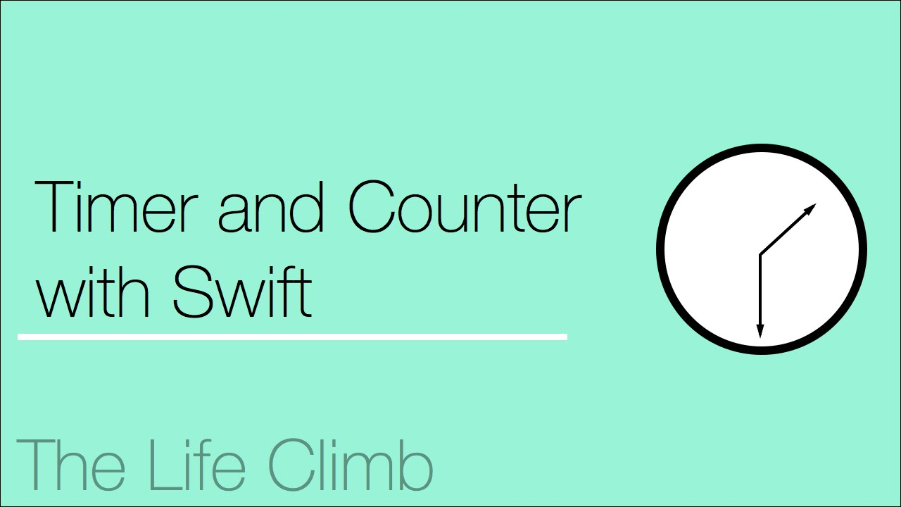 Timer Counter iOS Swift Tutorial