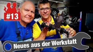 Turbolader komplett zerstört & Ein nervig quietschender BMW | Neues aus der Werkstatt #13