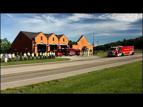 West Chester Firefighter Tim Burns Funeral