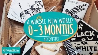 Montessori activities 0-3 months - A whole new world!