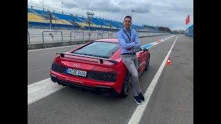 VOL GAS met de 2019 Audi R8 V10 Performance over CIRCUIT ASSEN!