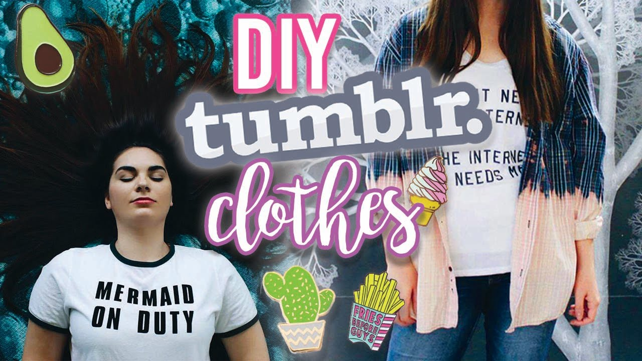 Diy Tumblr Clothes For Back To School Thrift Flip 2