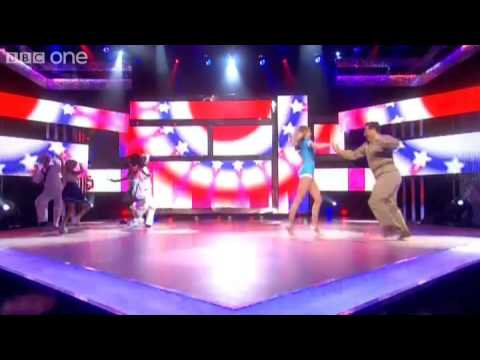 Neil Fox and Nancy Sorrell perform 'Candyman'  Let's Dance for Comic Relief  BBC One