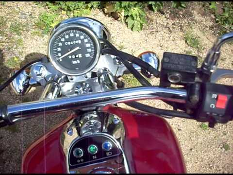 Moto Kawasaki Eliminator 125 De 1998 Youtube