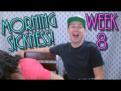 WEEK 8 PREGNANCY UPDATE - Morning Sickness | The Chick's Life