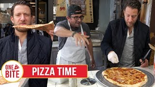 Gambar cover Barstool Pizza Review - Pizza Time (Brooklyn) Bonus Slice at Di Fara