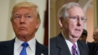 The difficult working relationship between Trump-McConnell