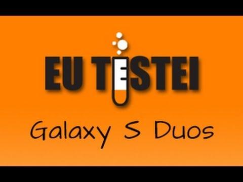 Smartphone Samsung Galaxy S Duos S7562 - Resenha Brasil