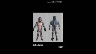 Cosplay Manusia Ikan - Shape