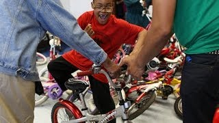 Free bikes for Chicago kids