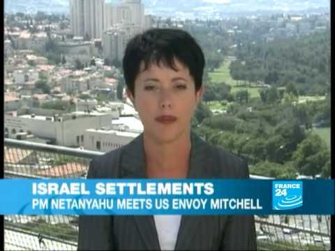 Mitchell seeks Israeli settlement deal in talks with Netanyahu, Abbas