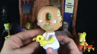 Spooky Spot 2012 - Playmates The Simpsons Treehouse of Horror Toys R Us Excl Ironic Punishment Set