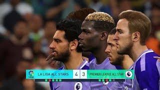 La Liga All Stars vs Premier League All Stars I PES 2018 Penalty Shootout