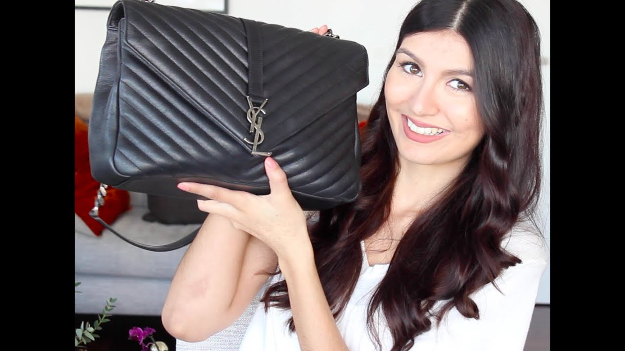 What s in my YSL College Bag! - YouTube 471f58623ede1