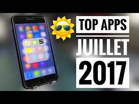 Les 4 Meilleures Applications iPhone - Juillet 2017