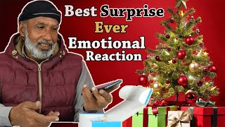 Surprised Tribal People With Their Favorite Gifts for Christmas
