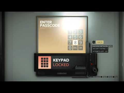 Deus Ex: Mankind Divided: Executive Locker B Safes - Palisade Bank