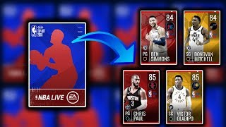 Massive 40 x Tip Off Heroes Pack Opening - Two Insane 85 Ovr Pulls - Nba Live Mobile 19