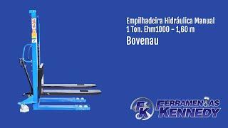 Вилочний Навантажувач Гідравлічний Ручний 1 Тонна. Ehm1000 1,60 Метрів Bovenau