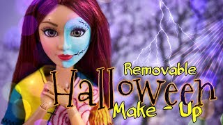 DIY - How to Make REMOVABLE Halloween Make Up | Halloween Hacks