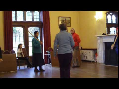 zzm Halsway Manor Box of Delights week Feb 2018 learning another dance set