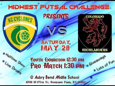 KC Cyclones vs Colorado Highlanders - First Half