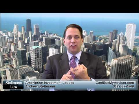 Ameriprise Financial Investment Fraud Call 312-332-4200