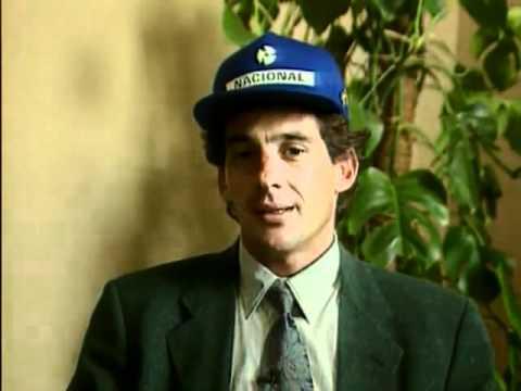 Ayrton Senna - Interview at Carraro factory- 28/04/1994