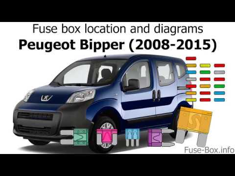 fuse box location and diagrams peugeot bipper (2008 2015) Timing Cover Location