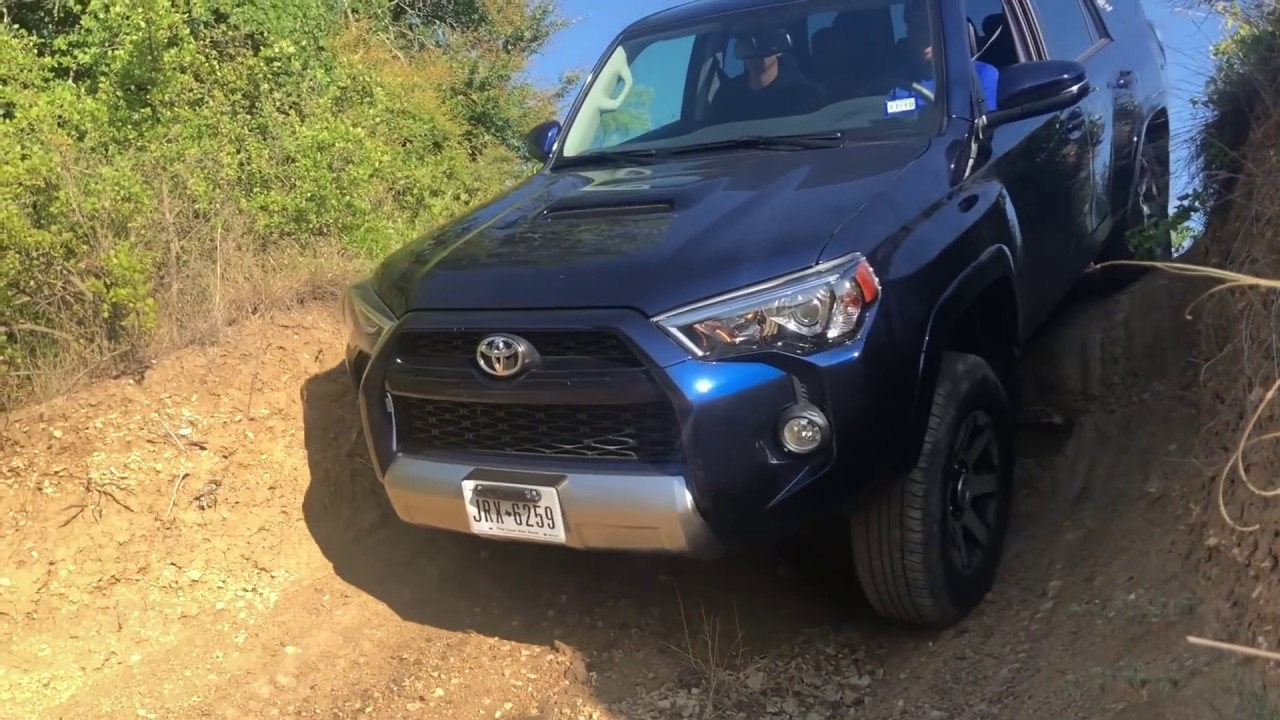 I Bet Your Honda Pilot Cant Do This 2018 Toyota 4Runner Trd Off Road Review