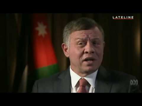 By The Royal Hashemite Court:  King Abdullah II of Jordan on US P.E Donald Trump
