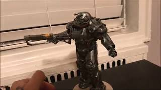 Fallout 4 Power Armor T-60 Chronicle Collectibles Statue from Gamestop