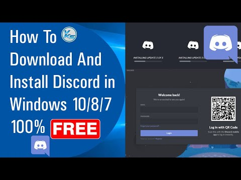 ✅ How To Download And Install Discord in Windows 10/8/7 100% Free (2021)