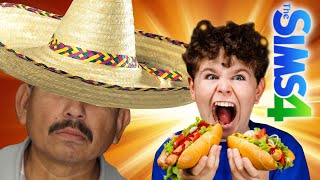 Kid Eats Mexican Man's Sausage At Park - The Sims 4  - | 4 |