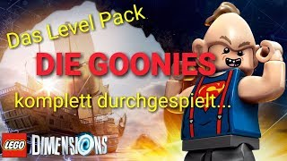 PS4 / LEGO DIMENSIONS / Level Pack / THE GOONIES / LIVE / Gameplay / deutsch /