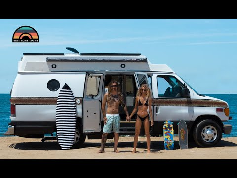 Couple Ditches RV life For VAN LIFE - Total Conversion For Under $10k