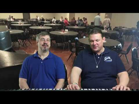 Spanky Entertainment Dueling Pianos - Shrine Club FUNdraiser (Monday Morning Musician)