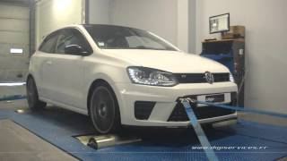 VW Polo WRC R 2.0 tsi 220cv Reprogrammation Moteur @ 286cv Digiservices Paris 77 Dyno
