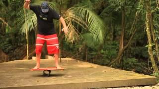 vibeboard jungle house praia de cambury