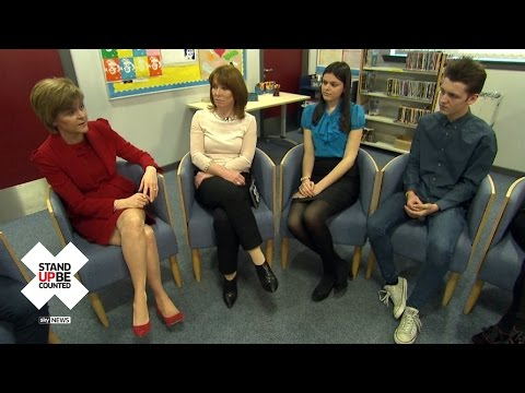 SNP's Nicola Sturgeon Answers Young Voters' Questions
