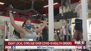 8 Local Gyms Sue Officials Over COVID-19 Health Orders