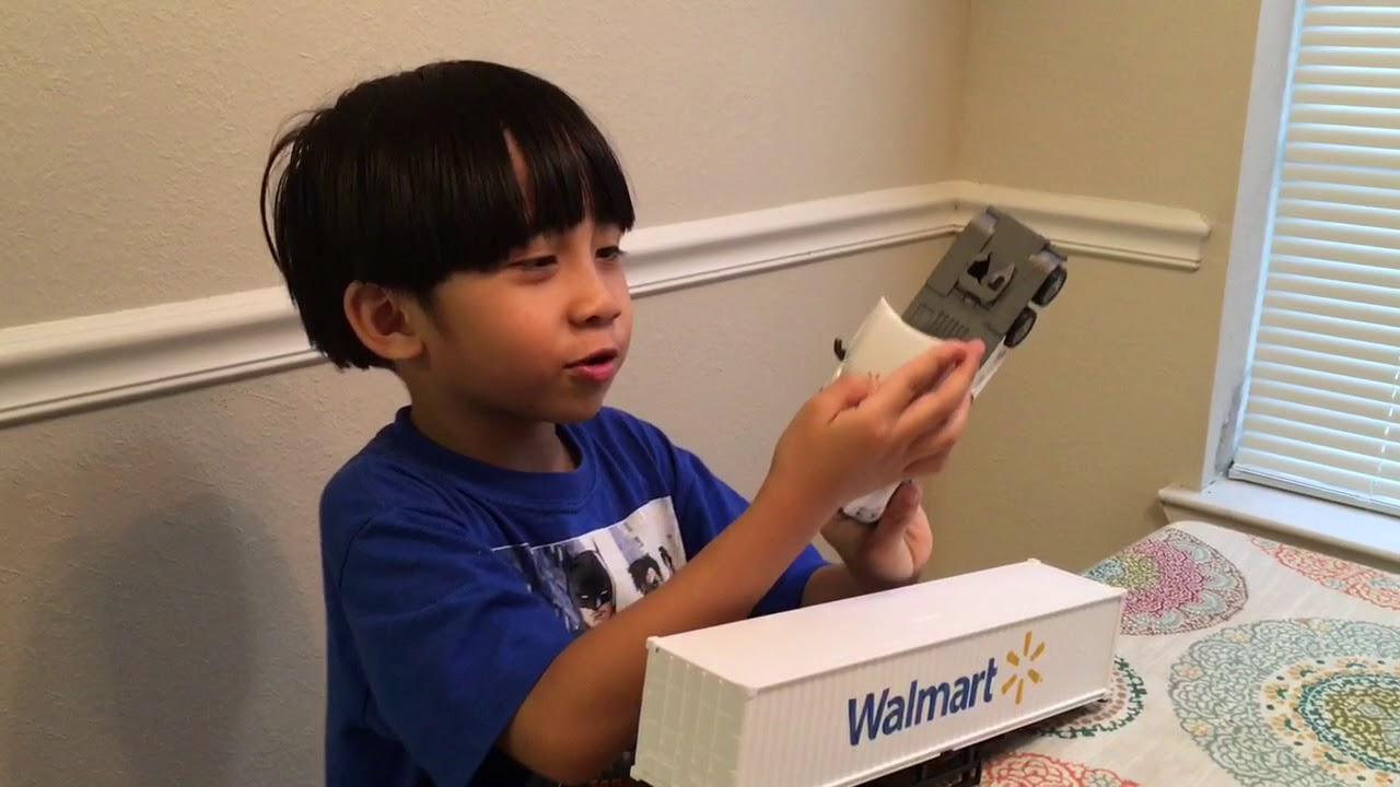 Walmart Toy Truck Review By Juan Miguel Youtube
