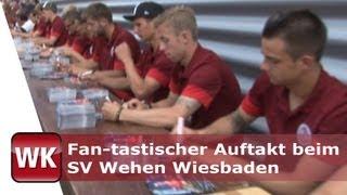 Fan-tastischer Auftakt beim SV Wehen Wiesbaden