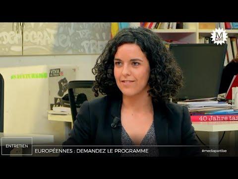 Manon Aubry: «Au pouvoir, la FI appliquera son programme contre les règles européennes»